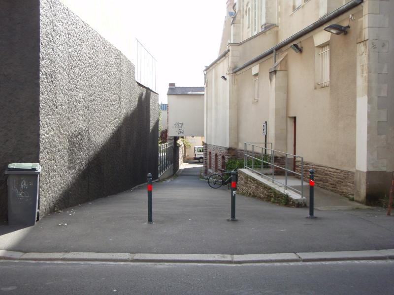 Accès piéton rue de Paris