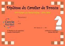 Cavalier_Bronze - Mini